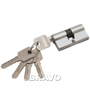 Цилиндр 60-30/30 ключ-ключ (Хром)