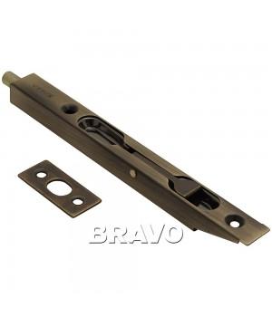 Шпингалет торцевой Bravo R-160 (AB- Бронза)